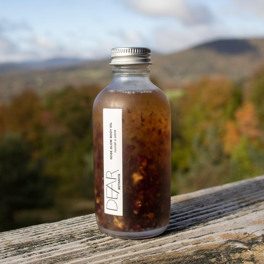 Image of Rose Glow Body Oil by Dear Botanics