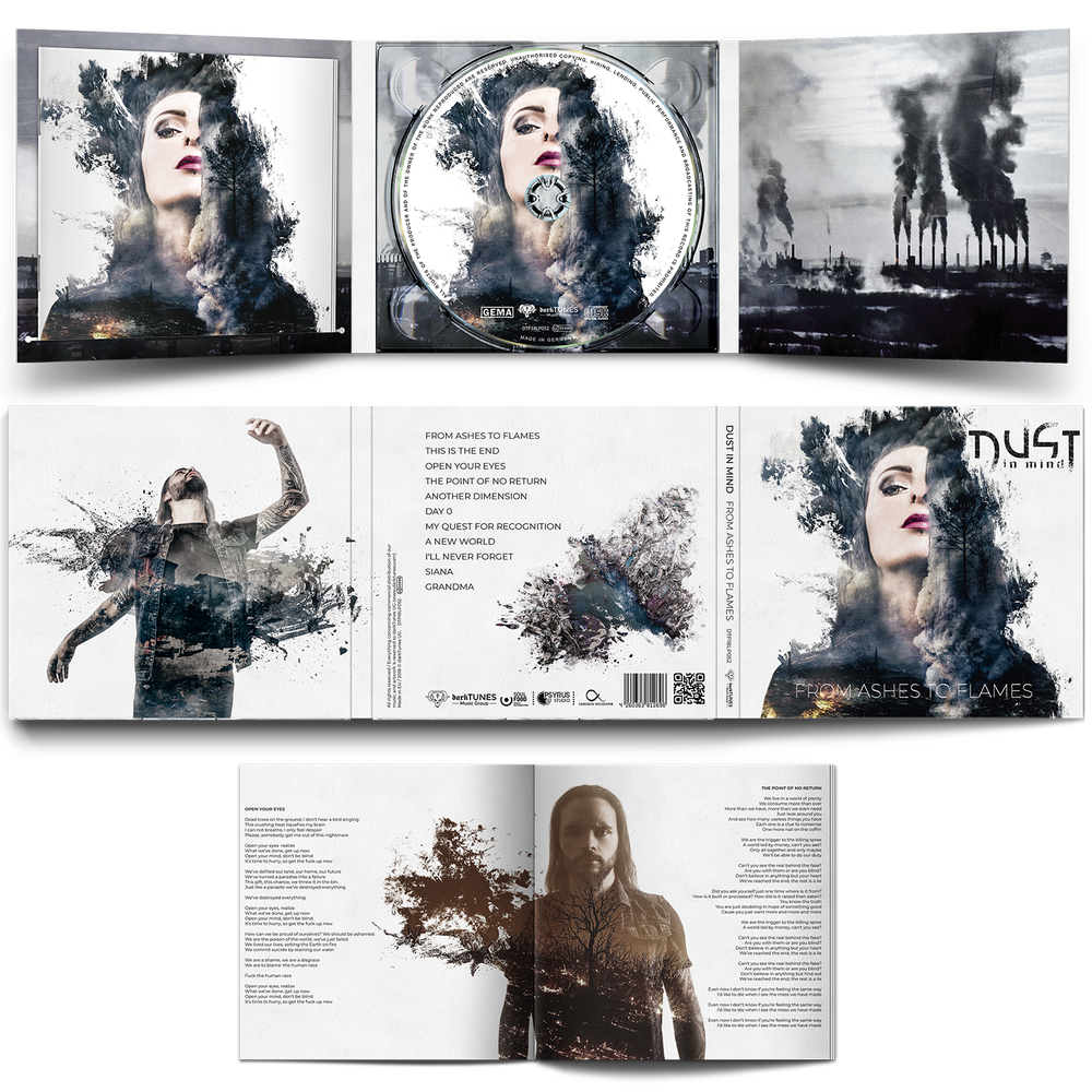 ALBUMS PACKAGE (CTRL + FROM ASHES TO FLAMES