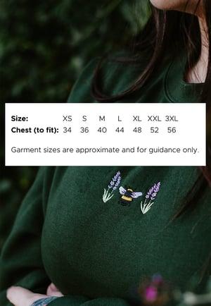 Image of Mushi & Oak Embroidered Sweatshirt ~ Black