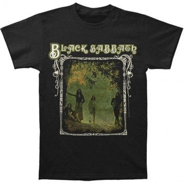 Black Sabbath Photo Framed T-Shirt