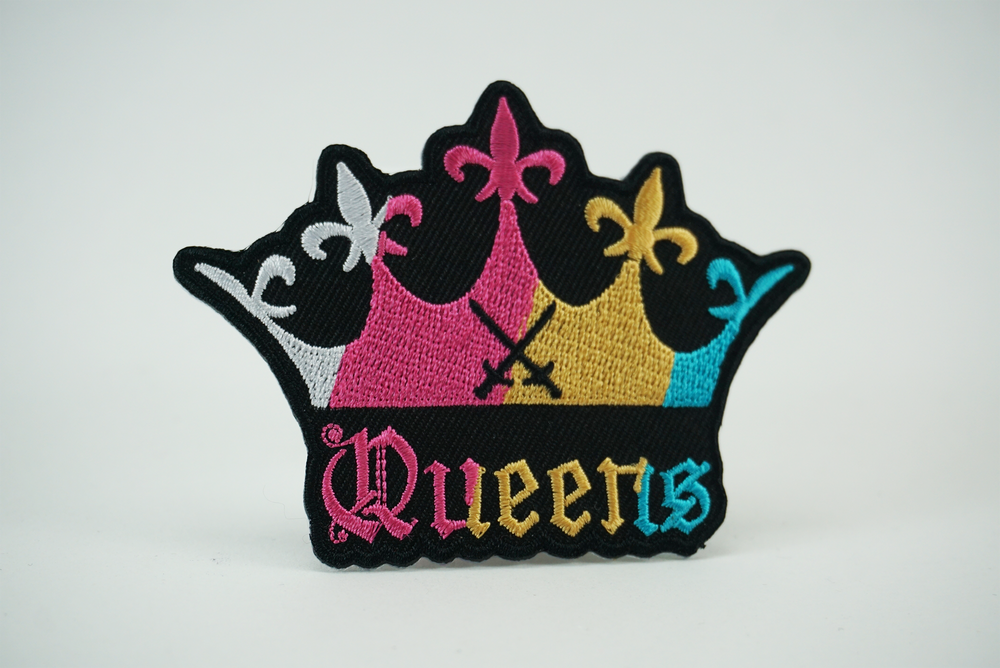 """Image of """" THE CROWN """" Collectible Patch BVQ"""