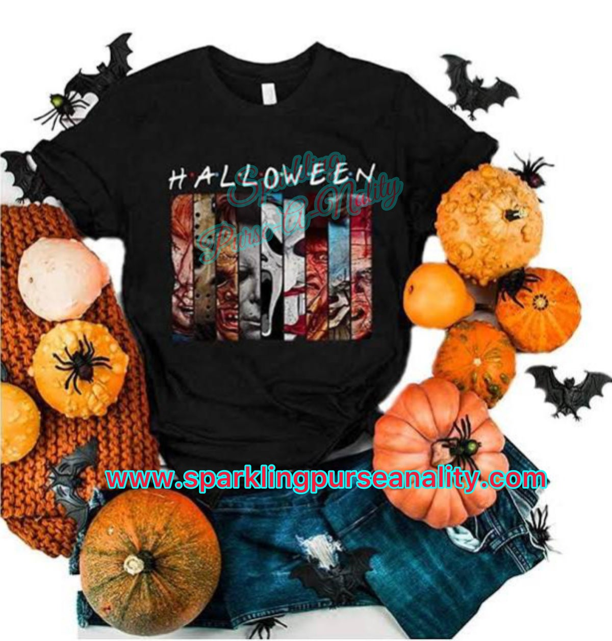 Image of Halloween Horror Characters Shirt
