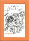 "Orange Blossom  ""Portrait of Marmalade"" Retro Print Limited Ed"