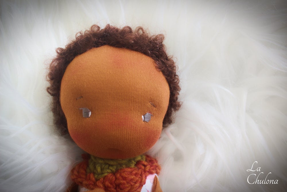 Image of Theo- 10 inch Waldorf Inspired Doll