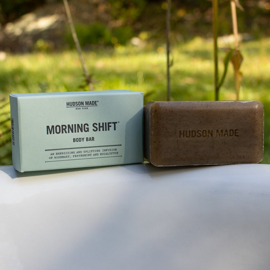 Image of Morning Shift Body Bar Soap by Hudson Made