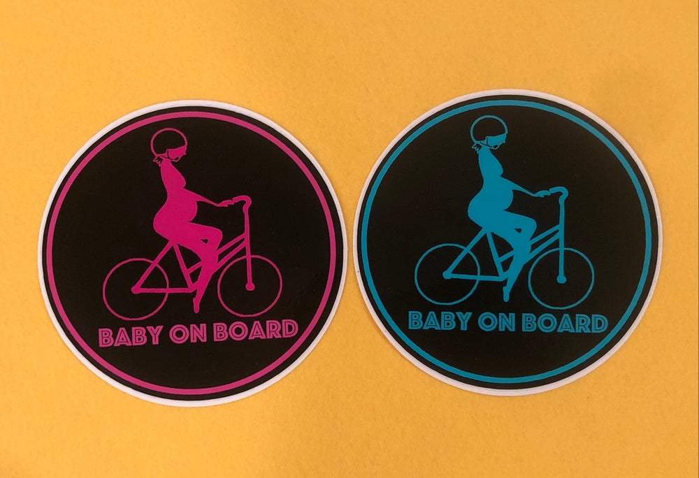 Image of Baby On Board Prego Sticker