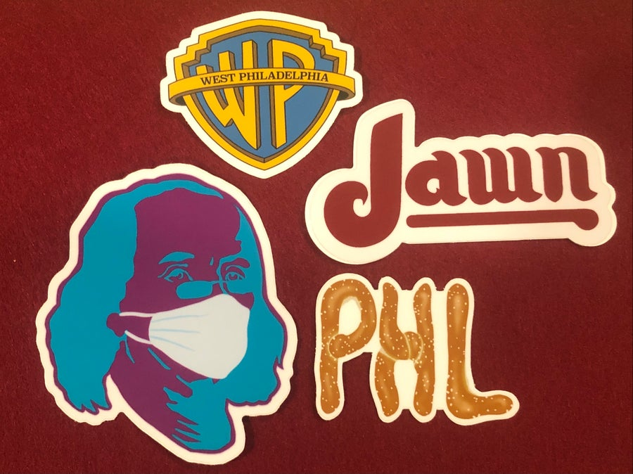 Image of Philly Sticker Pack