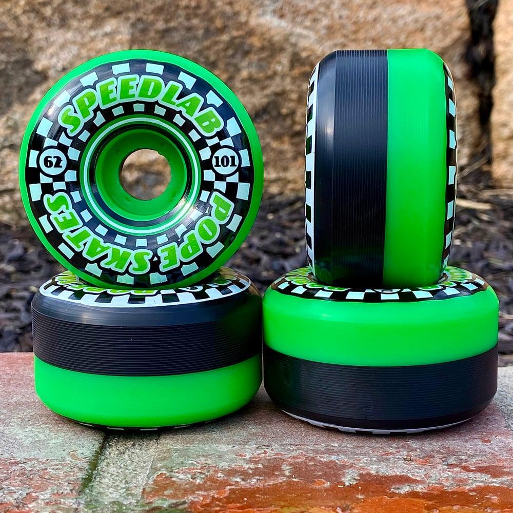 Image of 'Speedsters' The Leader in Speed - Green & Black