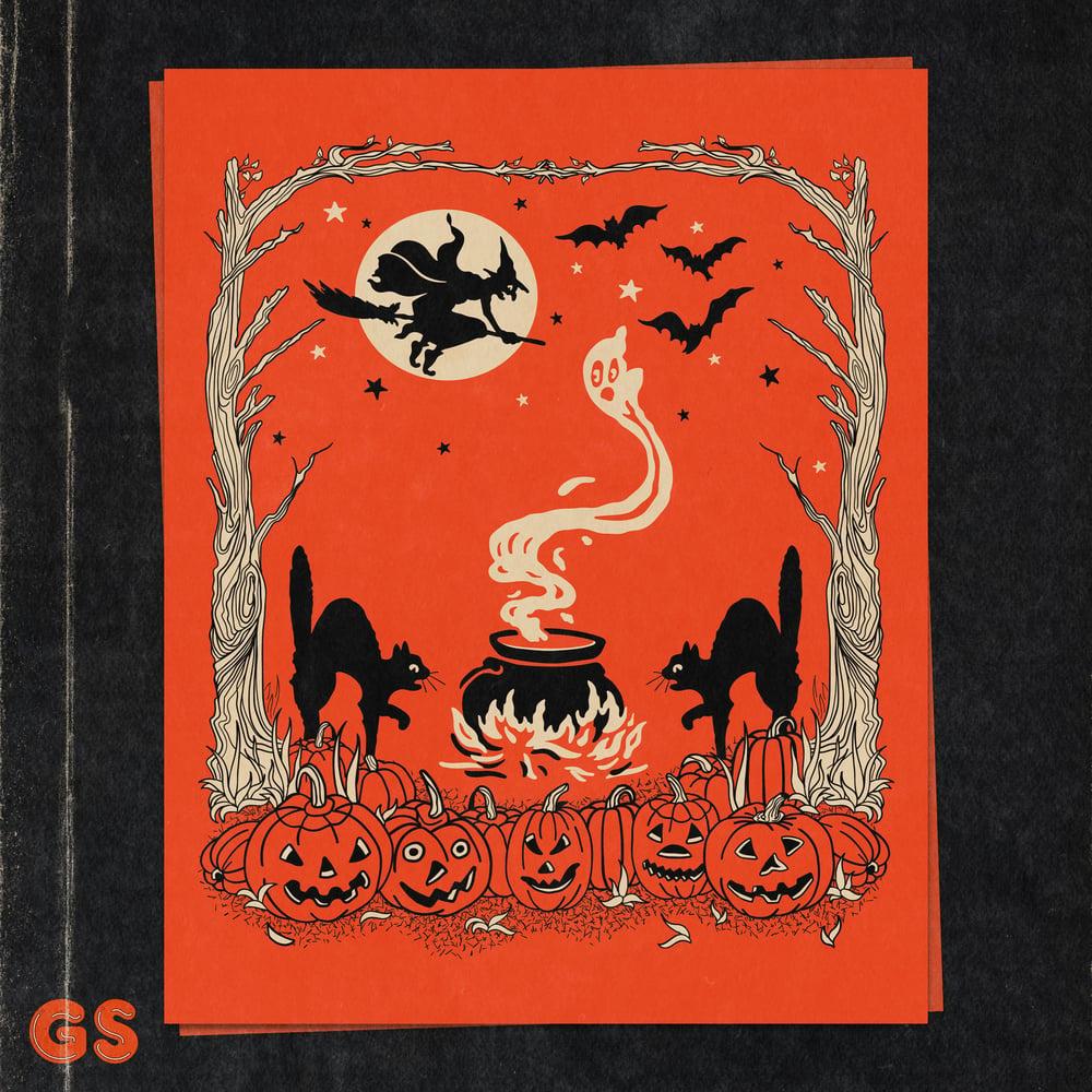Image of All Hallows' Eve Art Print