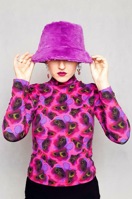 Image of Fluffy bucket hat