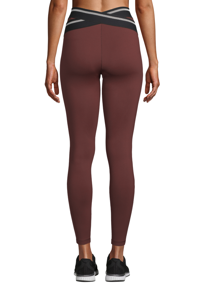 Image of Lux Sport 7/8 Tight Red
