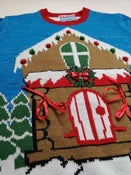 Image of Gingerbread House Christmas Jumper (Large) - Reconditioned/Seconds