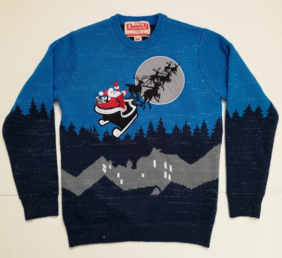 Image of Sleigh Ride Christmas Jumper (Medium) - Reconditioned/Seconds