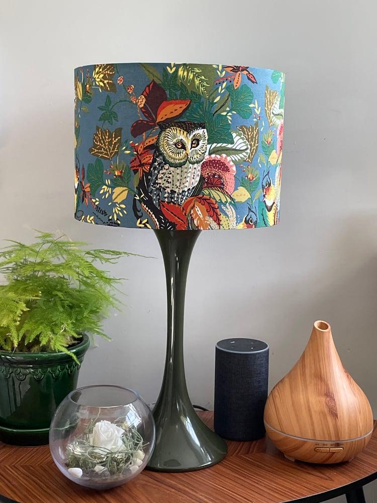 Image of Harvest Owl Slate Shade 30cm