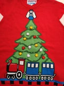 Image of Tree & Train Jumper (Large) - Reconditioned/Seconds