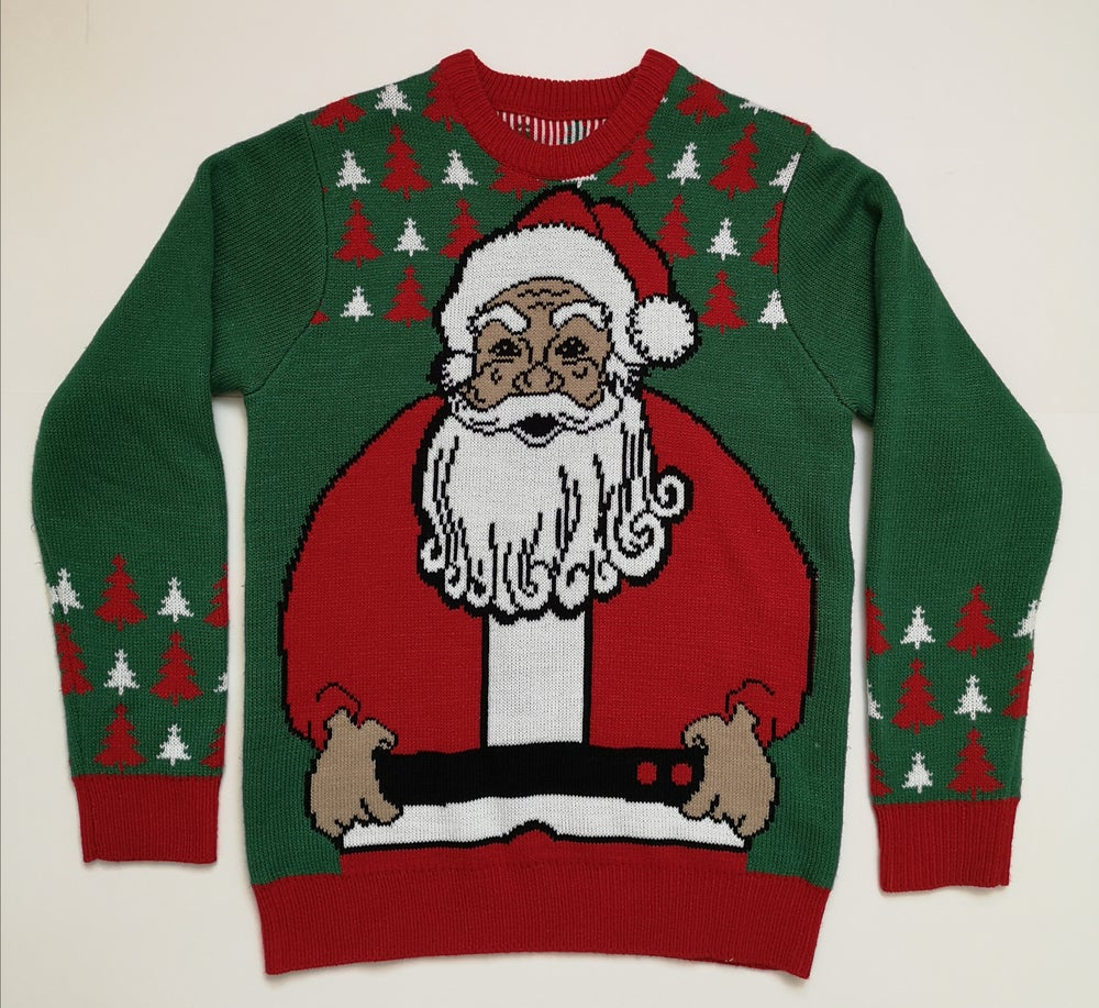 Image of Santa Knitted Jumper (Small) - New