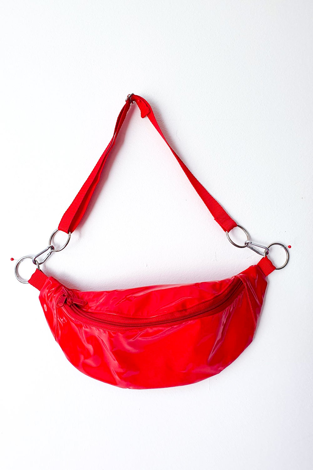 Image of Red PVC Fannypack