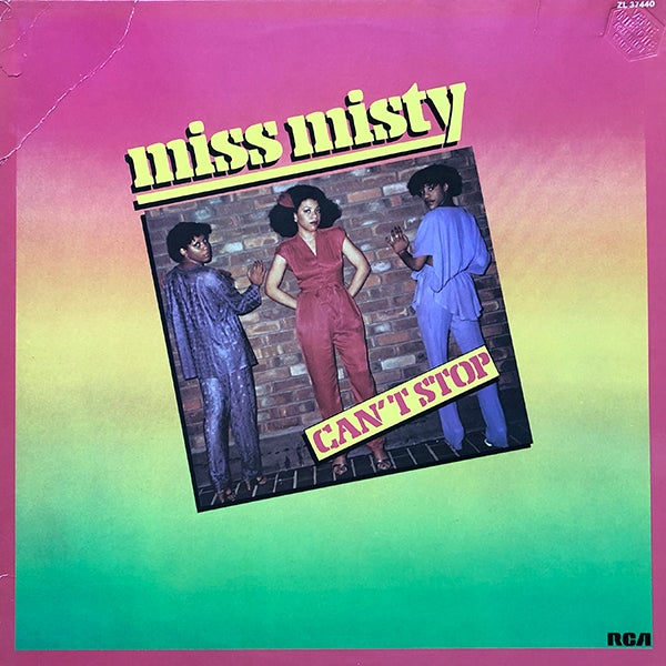 Miss Misty - Can't Stop (If Records - 1980)
