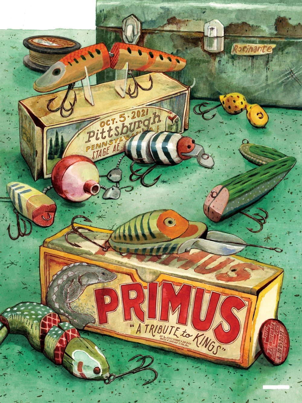 """Primus (Pittsburgh, Penn.) • L.E. Official Poster (18"""" x 24"""")"""