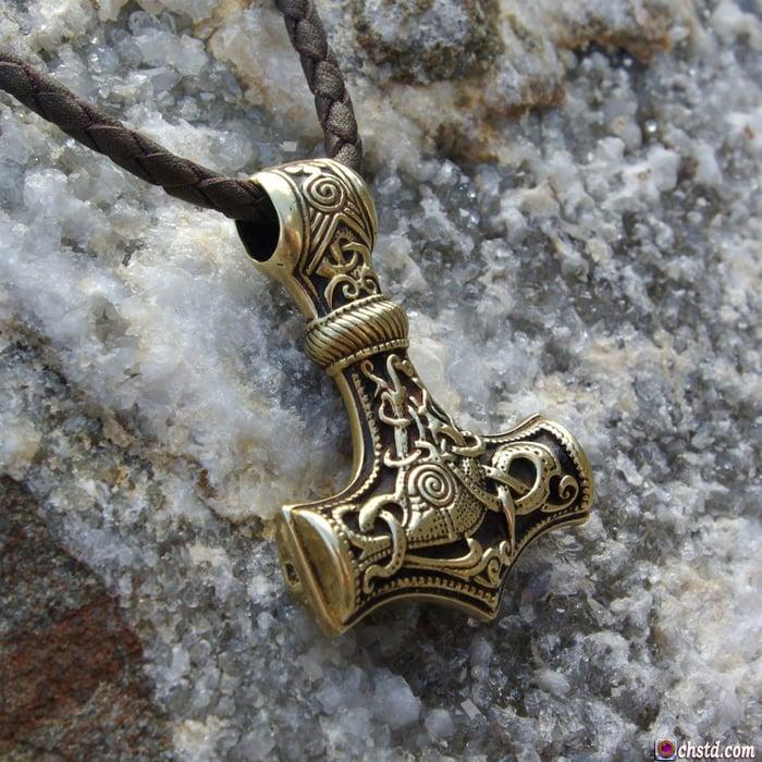 THOR'S HAMMER : MJOLNIR - Hammer of Thor - HANDMADE