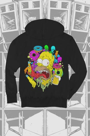 Image of Pitch Homer - Zip Hoodie