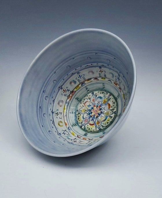 Image of Periwinkle Sky Mandala Bowl