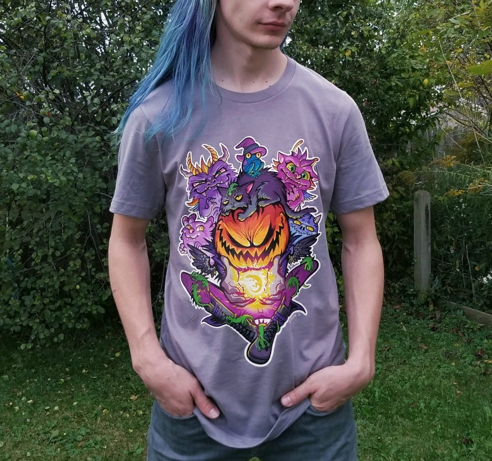 Image of PREORDER: Reptilian Divination {STORM} t-shirt