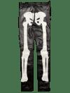 BLAND AND WHITE SUPER SKINNY LEATHER BONE PANTS