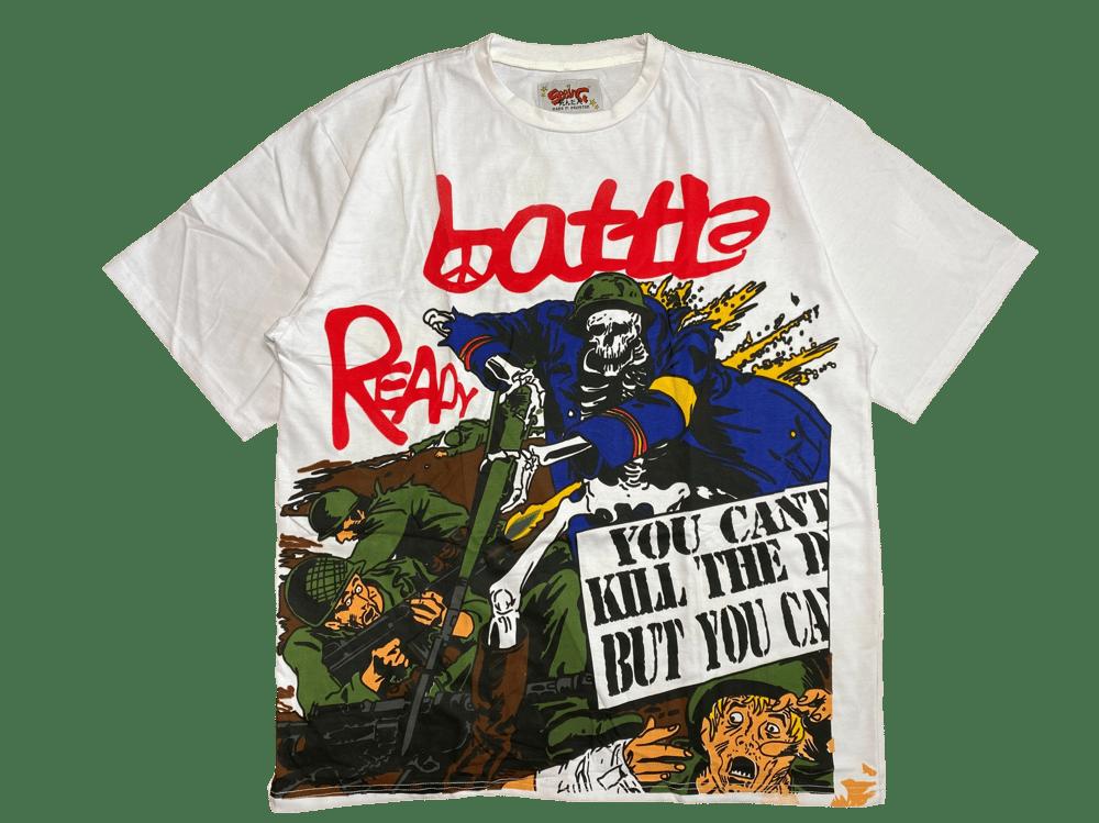 BATTLE READY OVERSIZED T-SHIRT