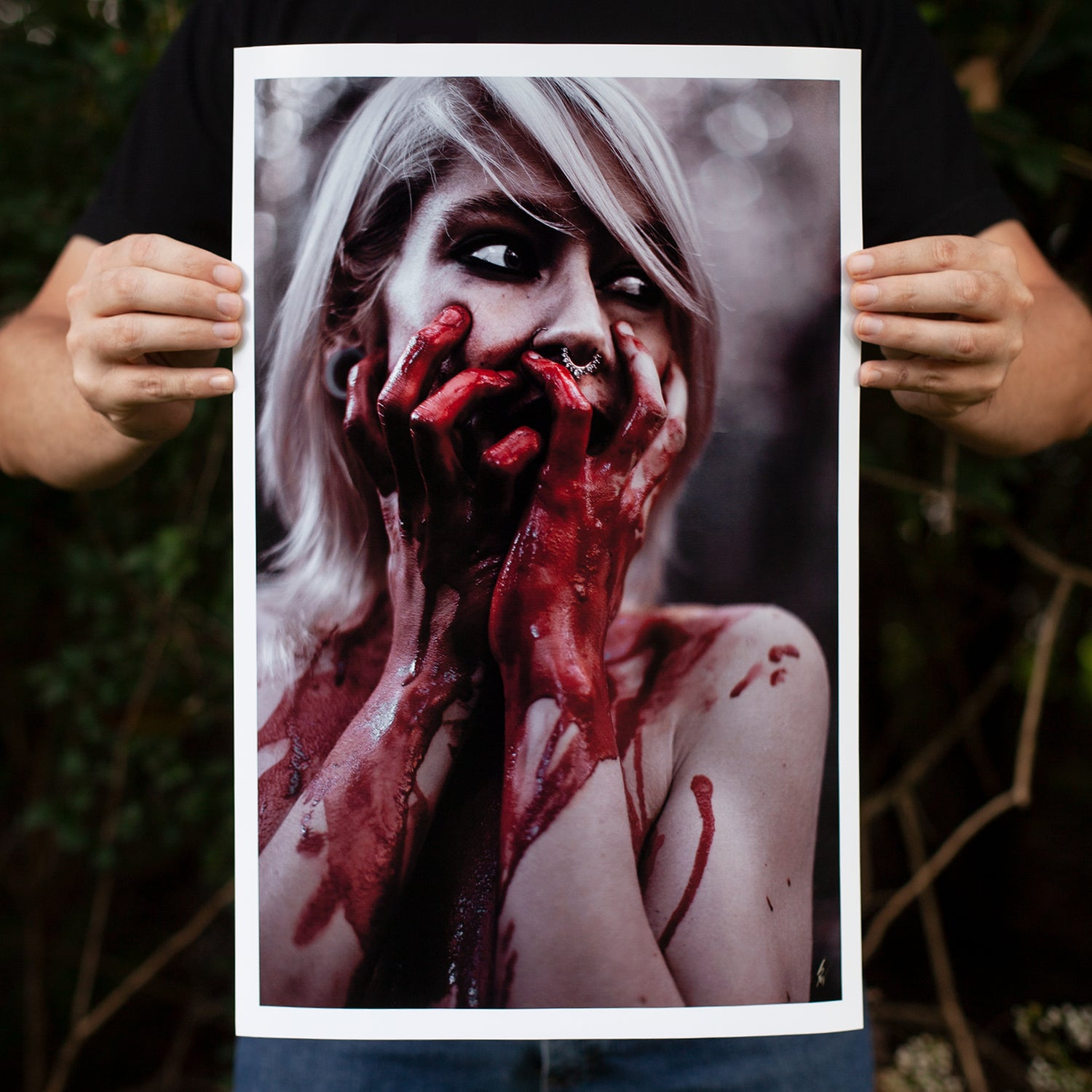 """Image of """"Fear"""" Digital Photography Print - Limited Timed Release"""