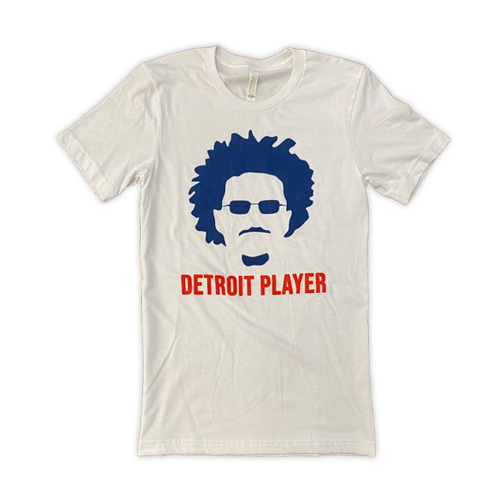 Image of Detroit Player White T