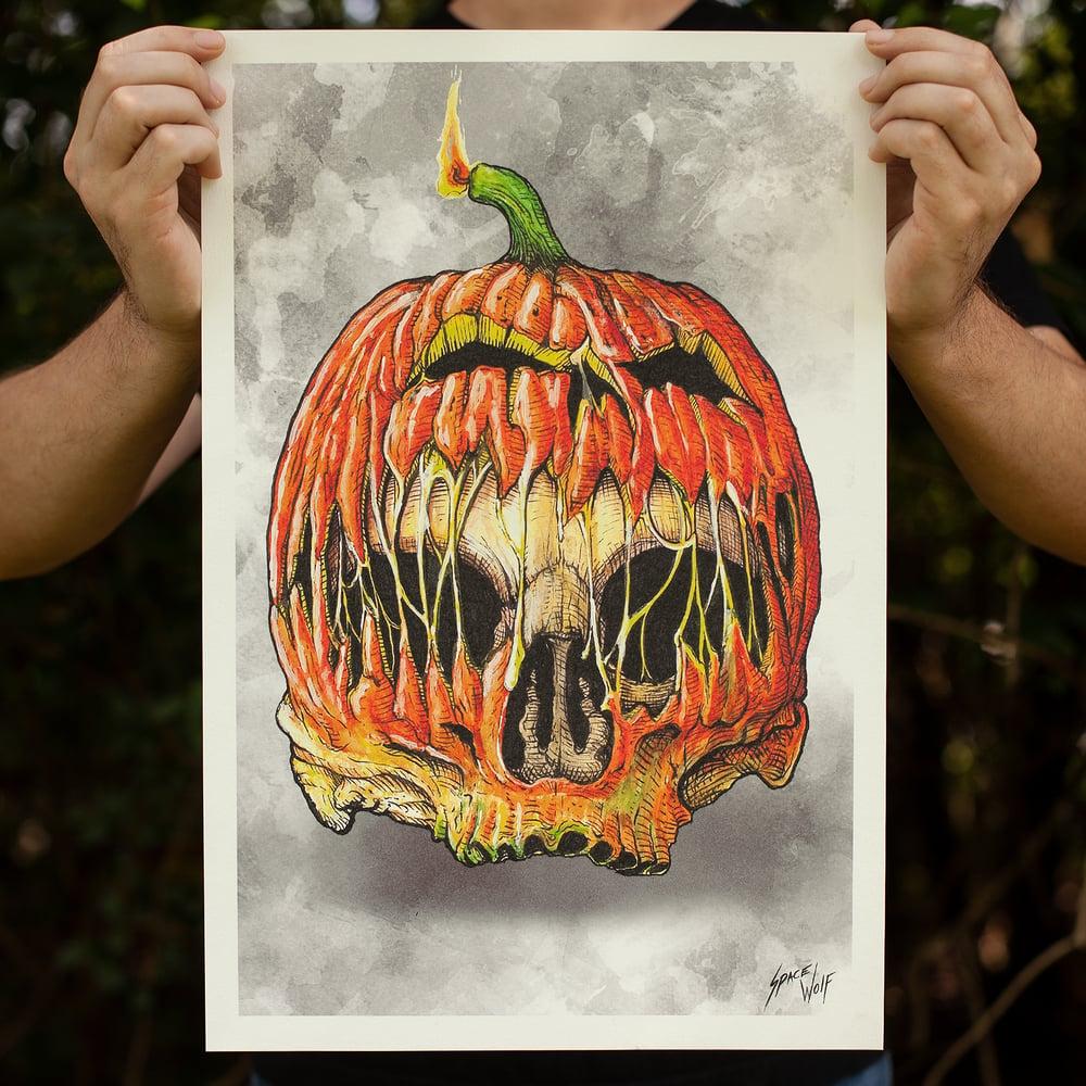 Image of Skull-O-Lantern - Limited Timed Release