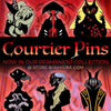 (PREORDER) The Arcana ✦ The Court of Horrors Enamel Pins