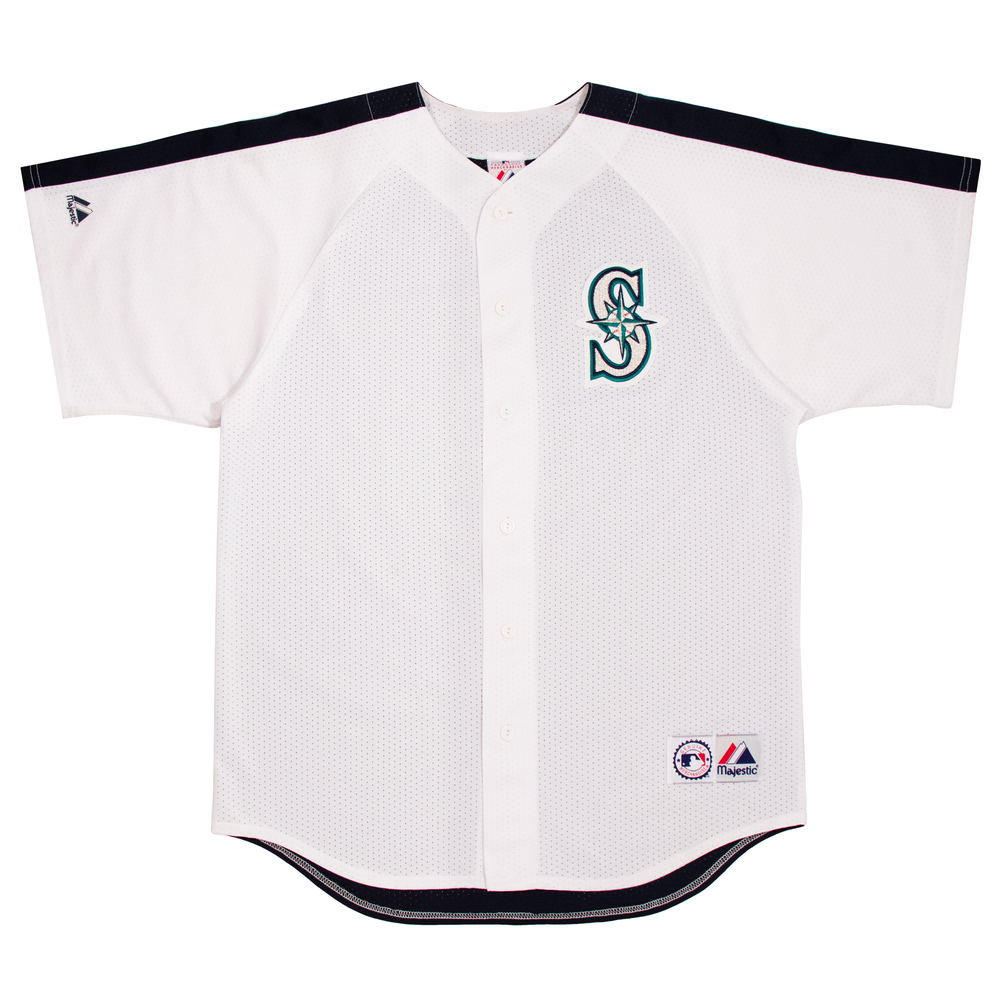 Image of Vintage Majestic Seattle Mariners Jersey (L)