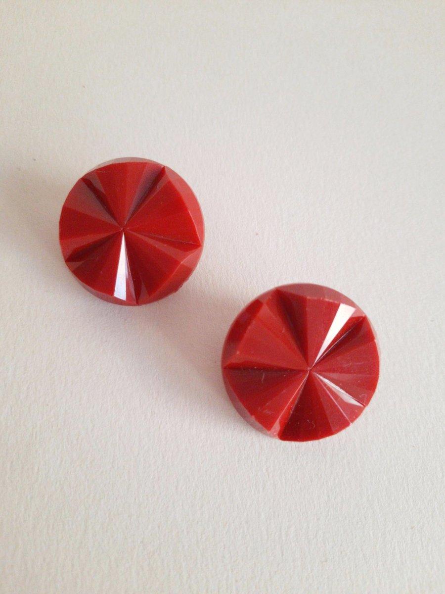 Image of Pendientes JUNO - Rojo