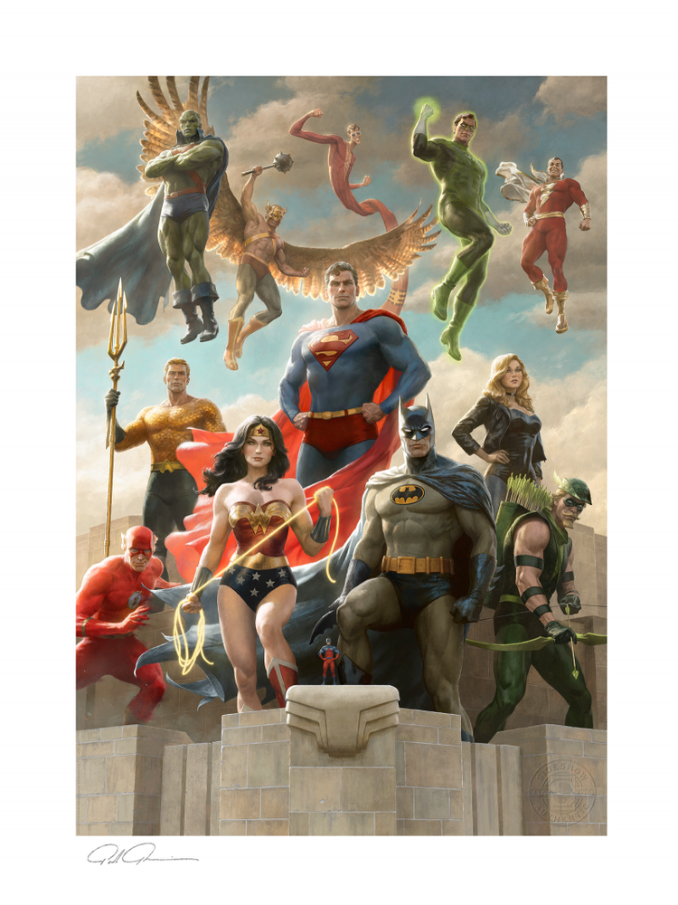 Image of The Justice League: Classic Variant