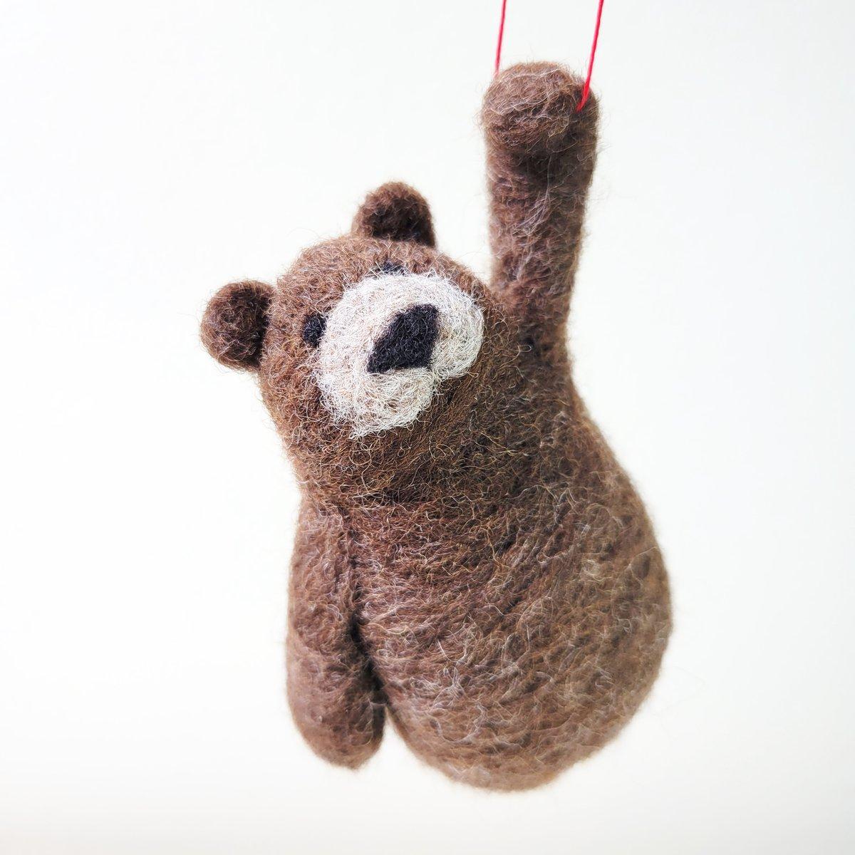 Brown Bear - Needle Felting Kit