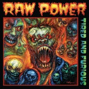 Image of Raw Power - Tired & Furious LP (green vinyl)