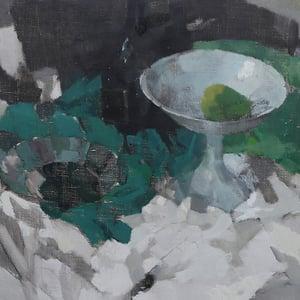 Image of 1962 ,still Life Painting, J Van Den Hurk (1917 -2002)