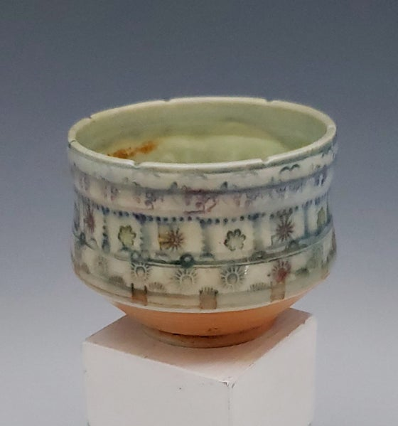 Image of Small Woodfired Chicklet Tea Bowl
