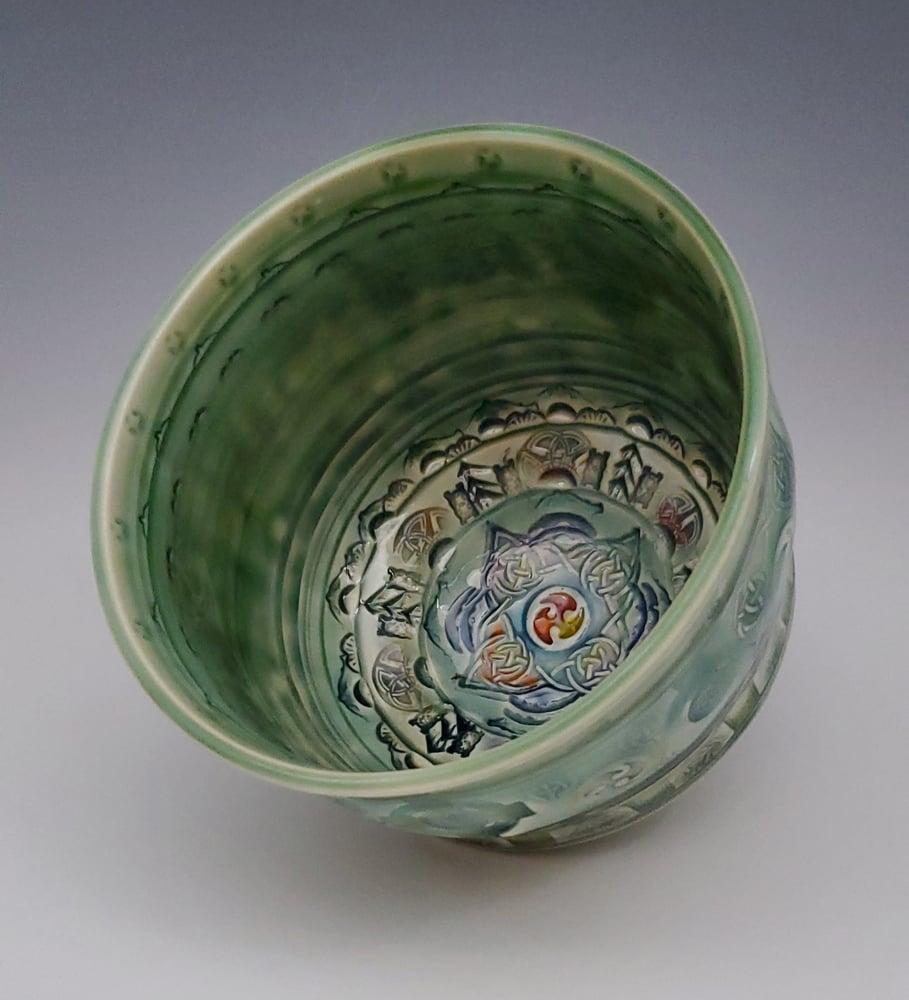 Image of Medium Celtic Wonder Tea Bowl