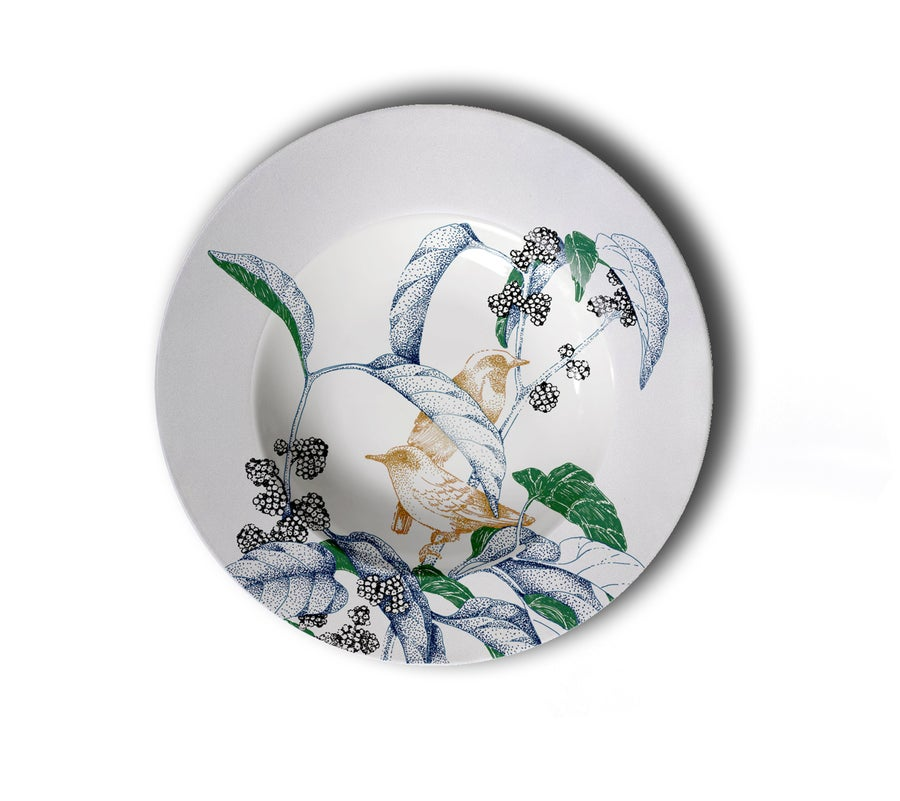 Image of Birds Song Chop Plate A