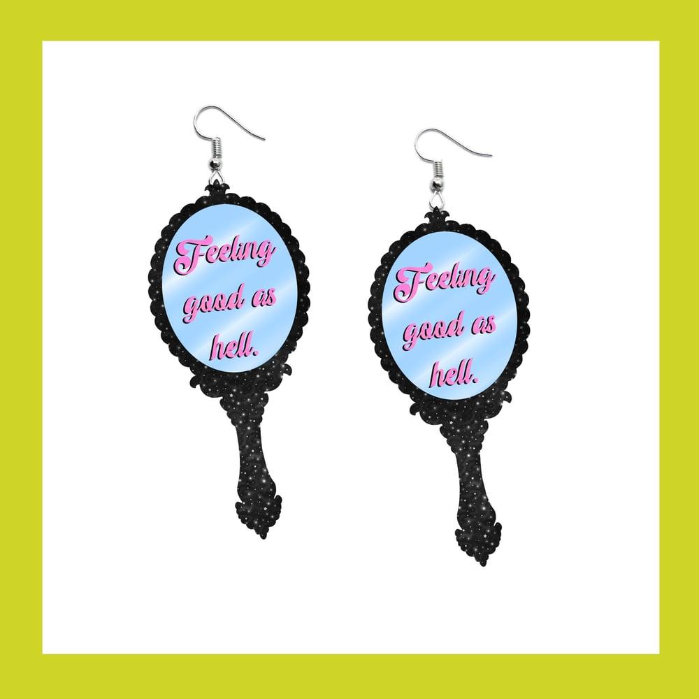 Image of Mirror Mirror earrings