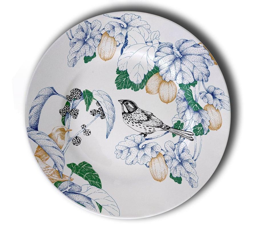 Image of Birds Song Dinner Plate B