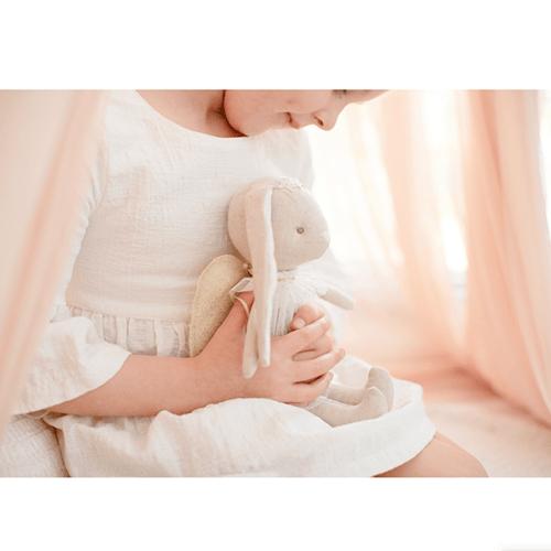 Image of Mini Angel Bunny 27cm Ivory