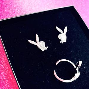 "Image of ""Players & Hustlers"" Earrings & Ring SET"