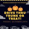 Drive thru Trunk or Treat Entry