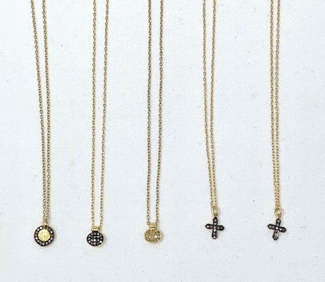 Image of Tiny Charm Necklaces