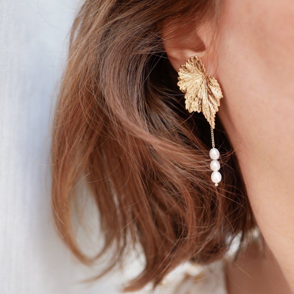 Image of Boucles d'Oreilles GABY PEARL