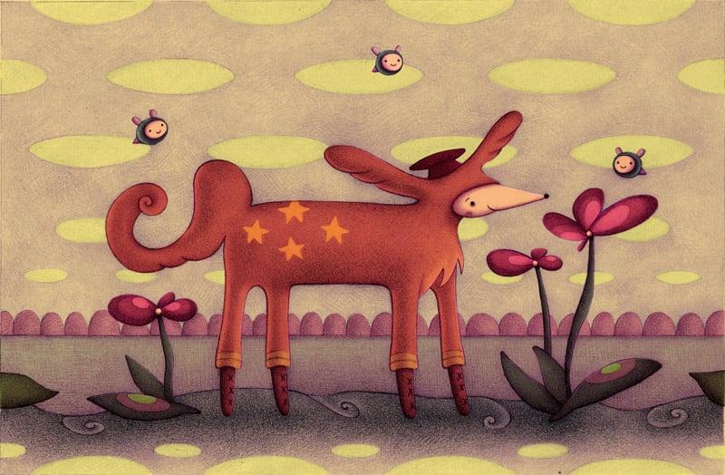 """4 Star Fox"" art print"